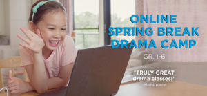 Spring Break Drama Camp banner
