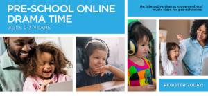 Pre-School Online Drama Time banner