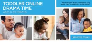 Toddler Online Drama Time banner