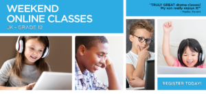 Weekend Online Classes banner