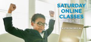 Saturday Online Classes banner