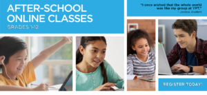 After-School Online Drama Time banner